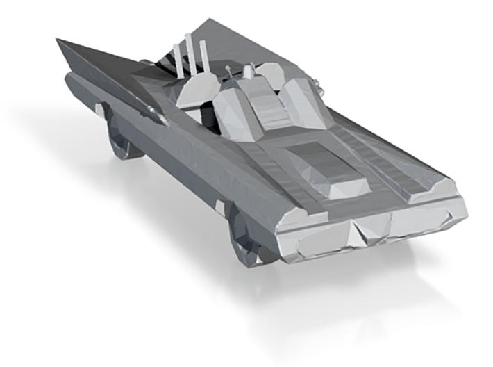 Amiga Batmobile 3d printed