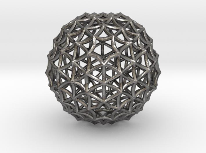 Fractal Geom Sphere 3d printed