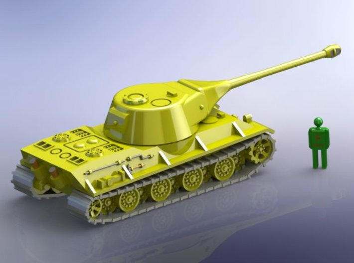 German Panzerkampfwagen VII Löwe 1/285 6mm 3d printed