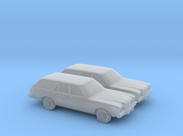 1/160 2X 1978 Plymouth Volare Wagon 3d printed