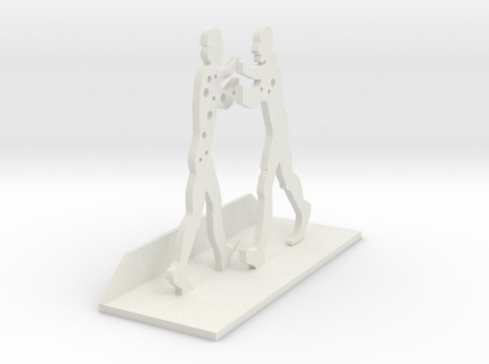 Molecule Man 3d printed