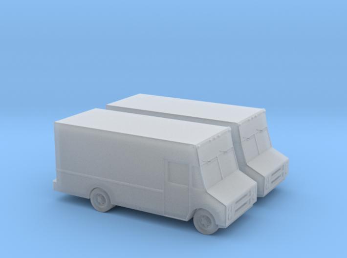 1/160 2X GMC Step Van 3d printed
