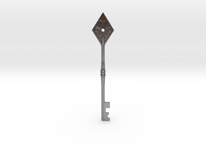 Resident Evil 2: Diamond key 3d printed