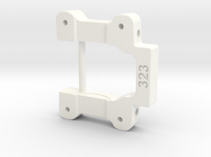 NIX91-323 (3.0* toe-in, 3* anti-squat) 3d printed