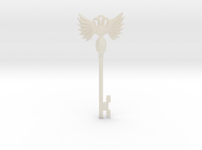 Resident Evil Rev2: Emblem Key 3d printed