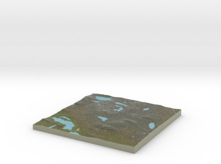 Terrafab generated model Fri Jul 31 2015 23:43:50 3d printed