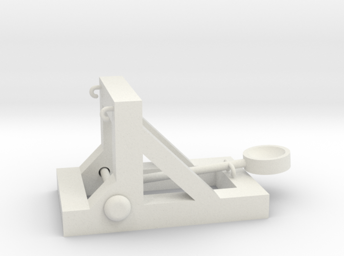 Rubber Band Catapult 3d printed