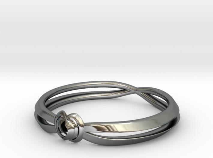 Rose ring (Japan 16,America 8~8.5,Britain P~Q) 3d printed