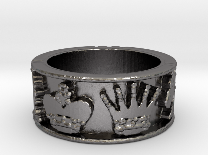 Chess Ring Size 7 3d printed