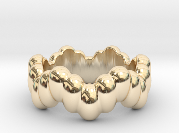 Biological Ring 14 - Italian Size 14 3d printed