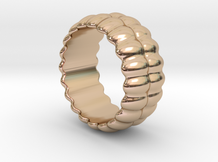 Mirror Ring 26 - Italian Size 26 3d printed