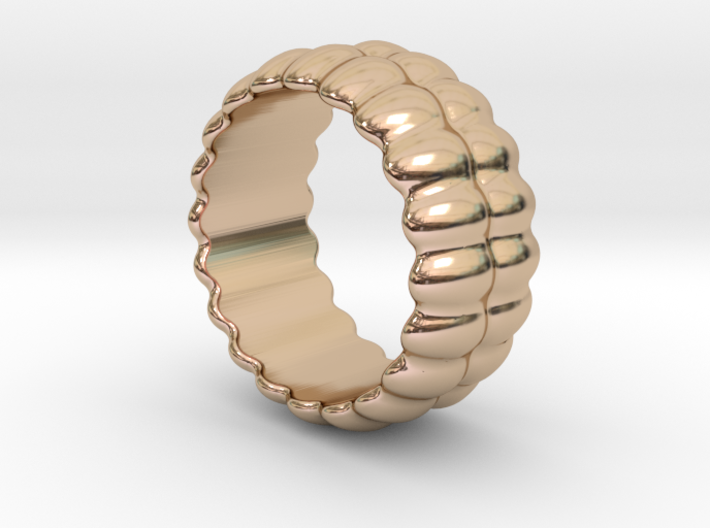 Mirror Ring 28 - Italian Size 28 3d printed