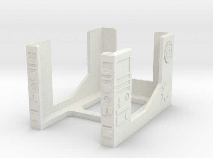 Armada Damage Deck V2 3d printed