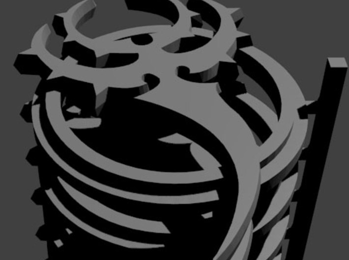 Skorne Fury 3d printed