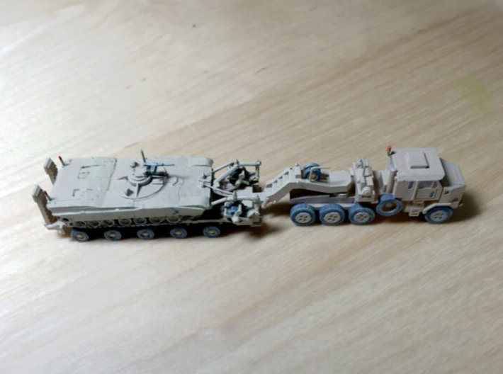HETS M1070 / M1000 Truck and Trailer 1/200 Scale 3d printed Model painted by Richard - without Tank