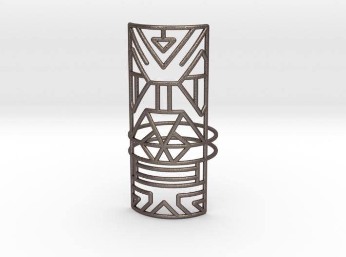 Giant Warrior ring Medium 3d printed