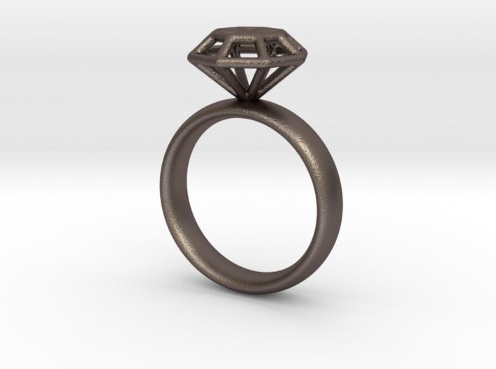 Diamond Ring 3d printed