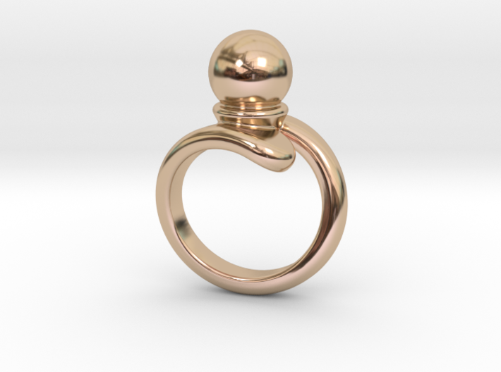 Fine Ring 17 - Italian Size 17 3d printed