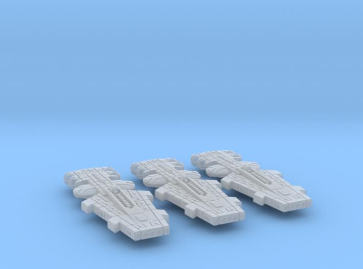 Orion (KON) Battle Cruiser Datagroup 3d printed