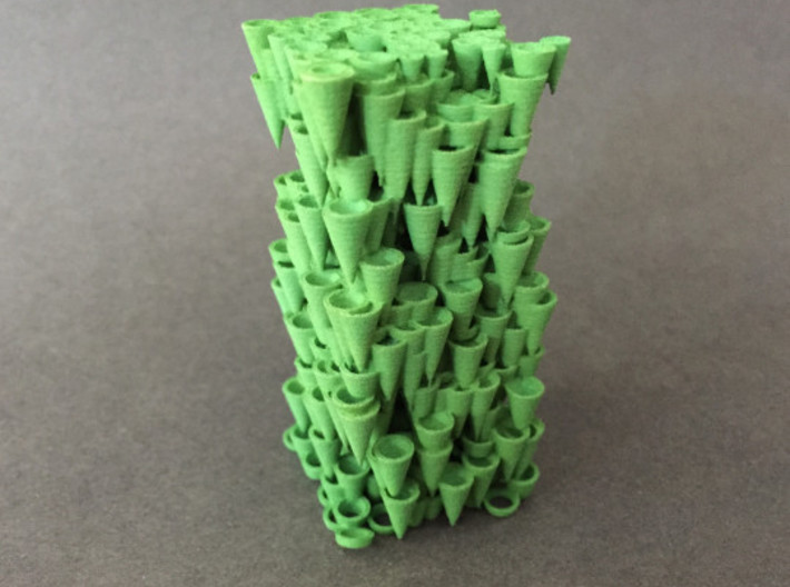 Cone Forest 3d printed