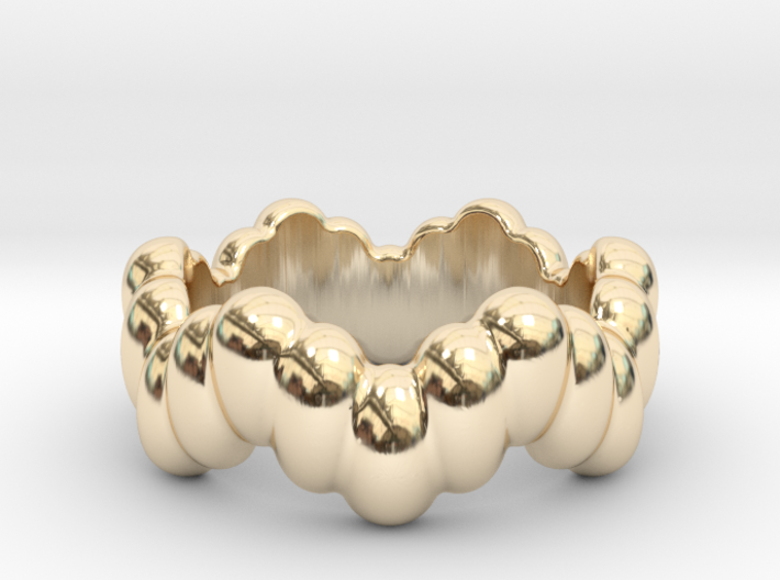 Biological Ring 24 - Italian Size 24 3d printed