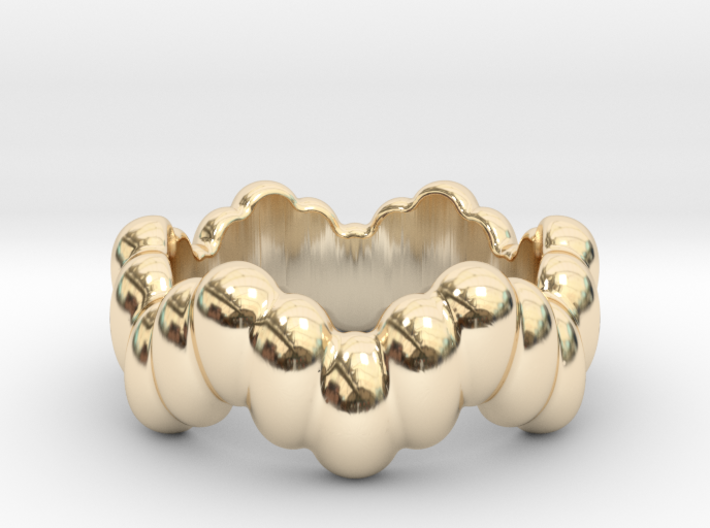 Biological Ring 32 - Italian Size 32 3d printed