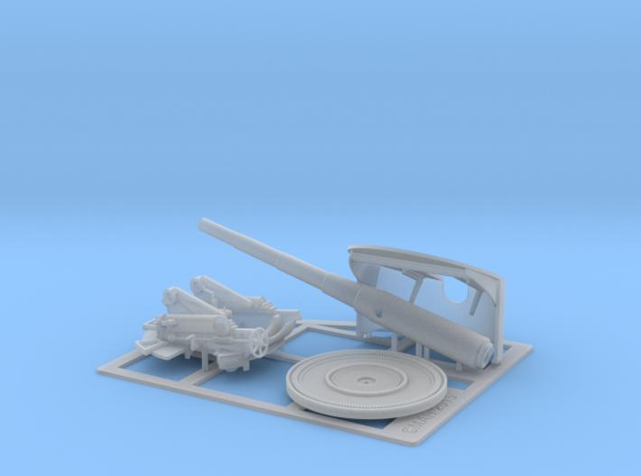 6 Inch Deck Gun 1/48 3d printed