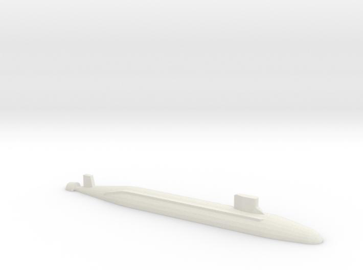 Seawolf-Class SSN, 1/1800 3d printed