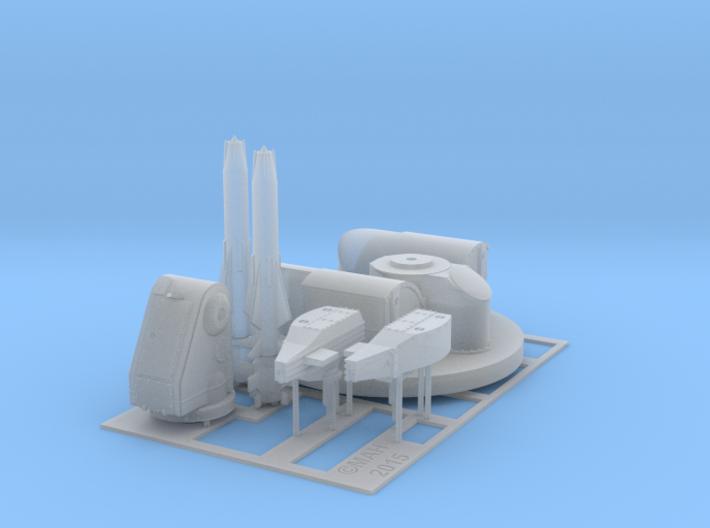 Sea Dart Kit 1/72 3d printed