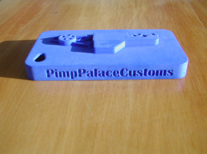 Pimp Palace Customs iPhone 4 Case 3d printed