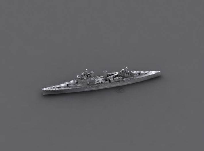 1/2400 RN CA London & Norfolk Class (County)  3d printed HMS London [1942]