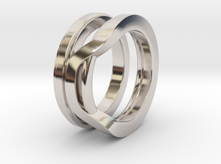Balem's Ring1 - US-Size 4 1/2 (15.27 mm) 3d printed