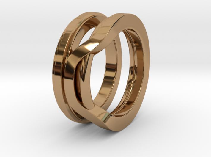 Balem's Ring1 - US-Size 13 (22.33 mm) 3d printed