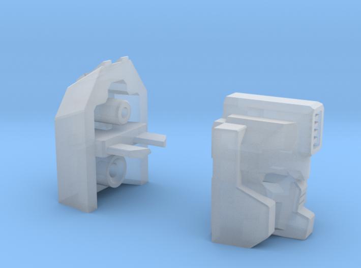 Rockdriller Guardian Head 3d printed