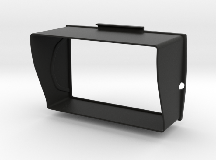 Sunshade D (58mm) for BMW Navigator 5 3d printed