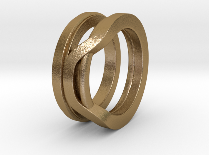Balem's Ring1 - US-Size 8 1/2 (18.53 mm) 3d printed