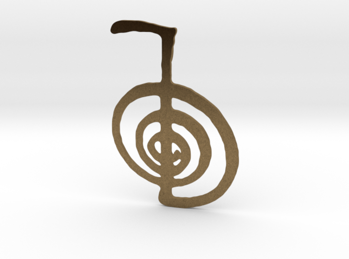 Reiki Power Symbol 3d printed