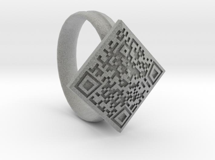Btc Ring 3d printed