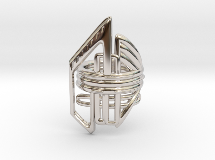 Balem's Ring2 - US-Size 6 1/2 (16.92 mm) 3d printed