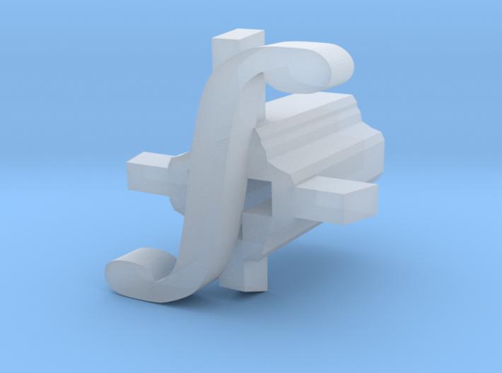 Integral Cherry MX Keycap Stem 3d printed