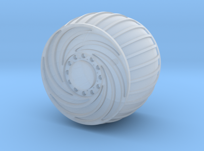 Mars Rover Wheel 1:10 3d printed