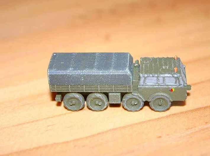 1/200 Tatra 813 truck x 2 3d printed Model in East German markings, painted by Richard Freeman
