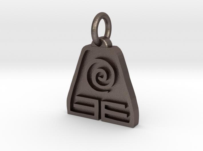 Avatar Earth Pendant 3d printed