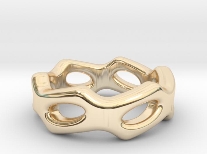Fantasy Ring 27 - Italian Size 27 3d printed