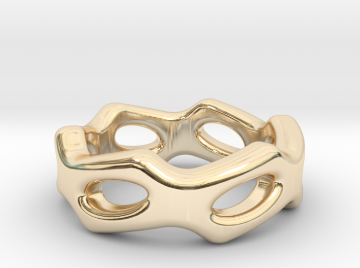 Fantasy Ring 31 - Italian Size 31 3d printed