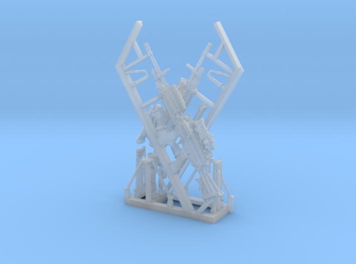 1/18 SPM-18-013 m249 MK48mod0 Variant V 3d printed