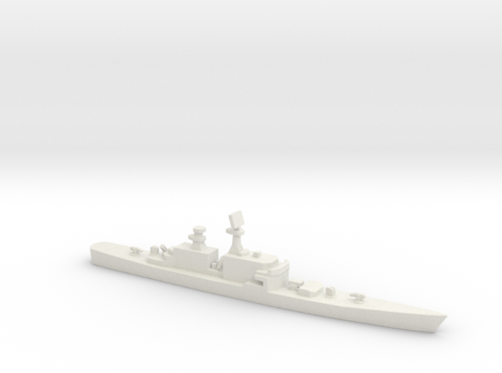 USS CGN-36 California, 1/2400 3d printed