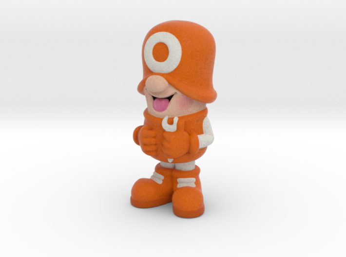 SmileCappy FullColor 3d printed