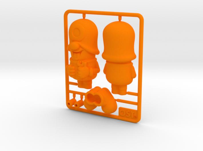 SmileCappy Plastic Model 50mm 3d printed