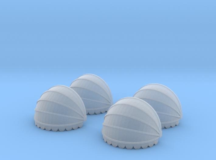 4x Korbmarkise rund 10 mm (N 1:160) 3d printed